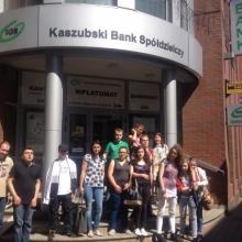 Wizyta wKaszubskim Banku Spółdzielczym 2017
