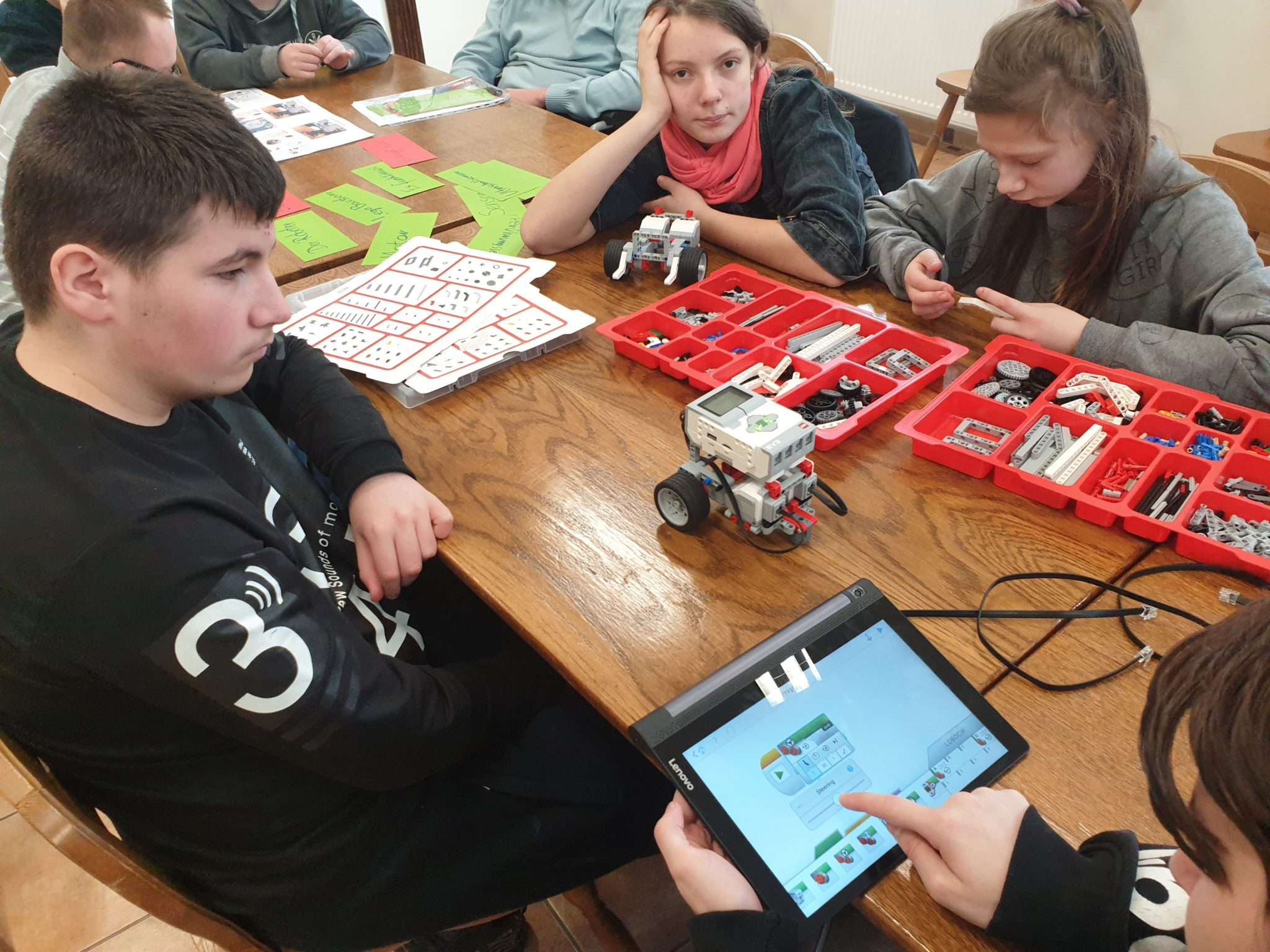 Warsztaty LEGO Mindstorms Education EV3
