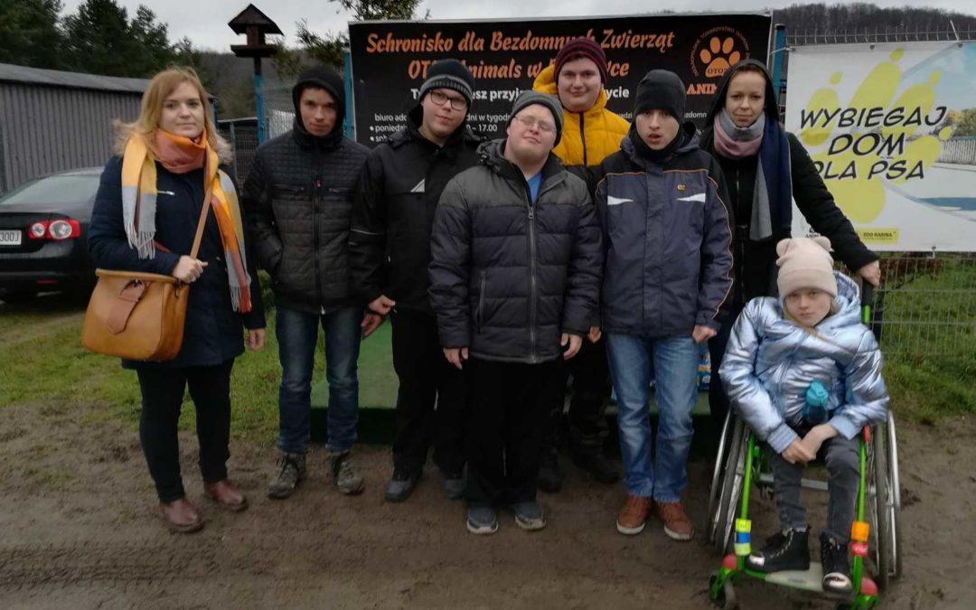 Wspieramy Schronisko dla Bezdomnych Zwierząt OTOZ Animals wDąbrówce