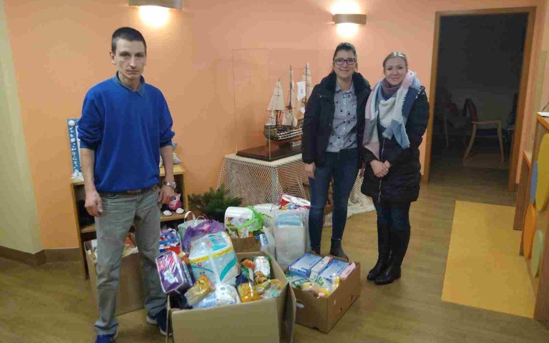 Zbiórka darów dla hospicjum dziecięcego Bursztynowa Przystań wGdyni