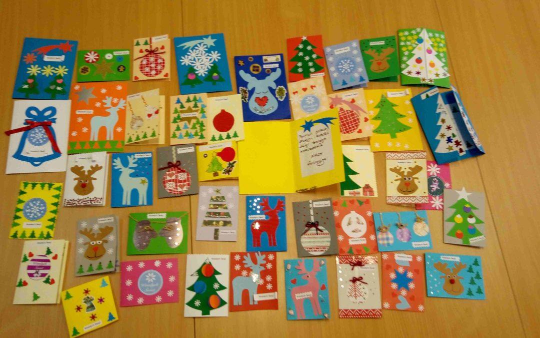 Kartka świąteczna dla seniora