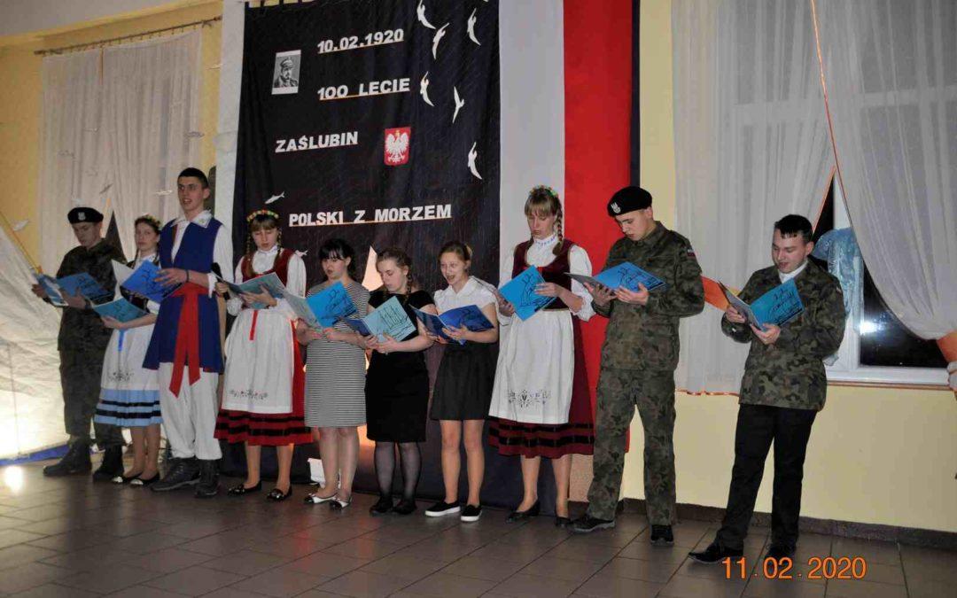 Wieczornica zokazji 100-lecia Zaślubin Polski zMorzem