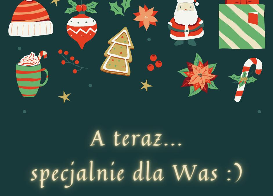Życzenia Świąteczne odwychowawców GRUP WYCHOWAWCZYCH