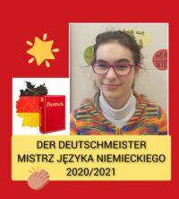 Szkolny konkurs języka niemieckiego 2021
