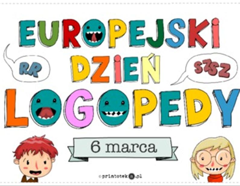Europejski Dzień Logopedy wnaszej szkole